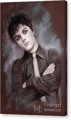 Billie Joe Armstrong Canvas Print by Melanie D