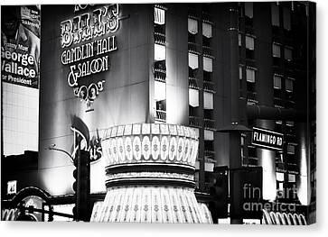 Bill's Gamblin Hall Canvas Print by John Rizzuto