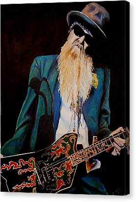 Billy Gibbons Canvas Print