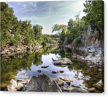Potomac River Channel Canvas Print