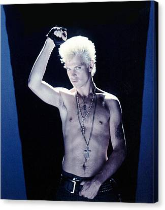 Billy Idol - Close Up & Personal Canvas Print by Epic Rights