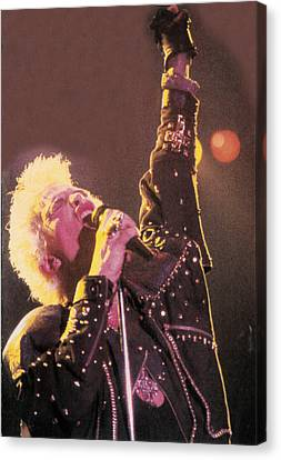 Billy Idol - Greatest Hits Inner Sleeve 2001 - Rebel Yell Canvas Print by Epic Rights