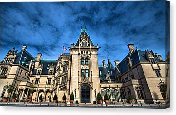 Biltmore Angles Canvas Print by Carol R Montoya