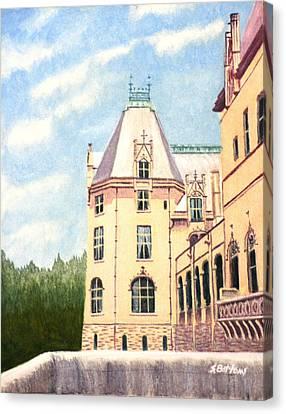 Biltmore Balcony Canvas Print