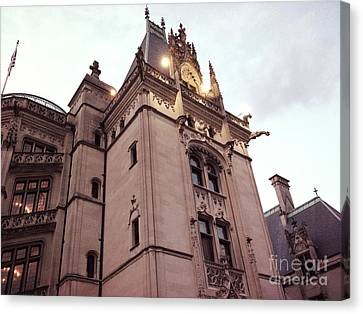 Biltmore Estate Mansion Architecture - American Castles Ashevile North Carolina Canvas Print