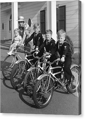 Bing Crosby And His Boys Canvas Print