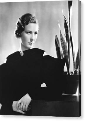 Binnie Barnes, Ca. Mid-1930s Canvas Print