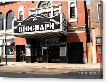 Biograph Theatre John Dillinger's Last Night Out Canvas Print