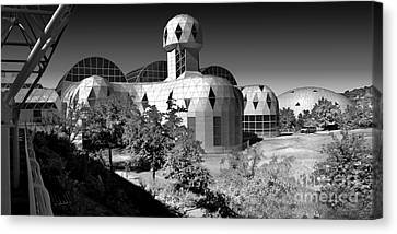 Biosphere 2 Canvas Print by Gregory Dyer