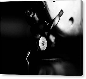 Birch Brothers Portable Phonograph 2 Canvas Print by Jon Woodhams