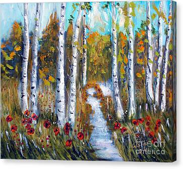 Tolan Canvas Print - Birch Trees by To-Tam Gerwe