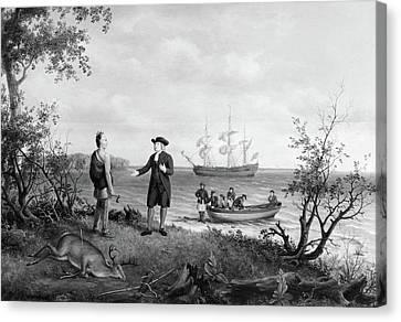 Birch William Penn, C1850 Canvas Print by Granger
