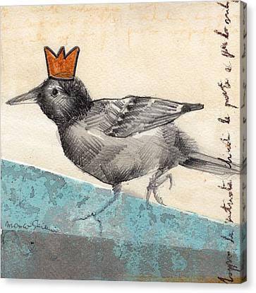 Bird 01 Canvas Print by Marco Sivieri