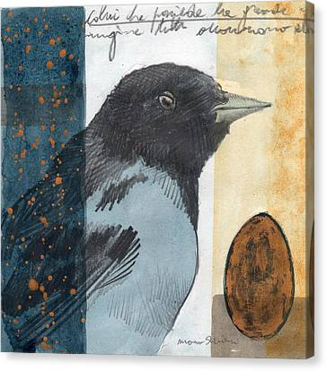 Bird 08 Canvas Print by Marco Sivieri