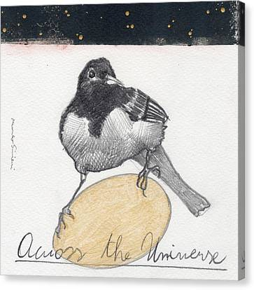 Bird 20 Canvas Print by Marco Sivieri