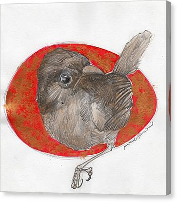 Bird 22 Canvas Print by Marco Sivieri