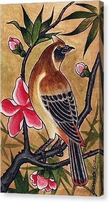 Bird Canvas Print by David Shumate