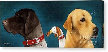 Bird Dogs... Canvas Print by Will Bullas