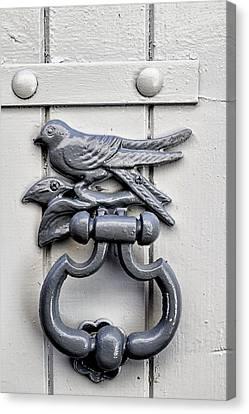Bird Door Knocker Canvas Print