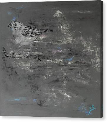 Bird Canvas Print by Galia Nof Taboch