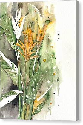 Bird Of Paradise 08 Elena Yakubovich  Canvas Print