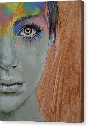 Bird Of Paradise Canvas Print by Michael Creese