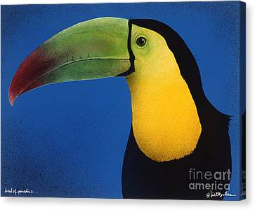 Bird Of Paradise... Canvas Print by Will Bullas