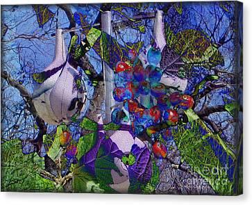 Bird's Eye View Canvas Print by Kathie Chicoine