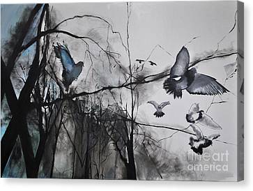 Birds Canvas Print