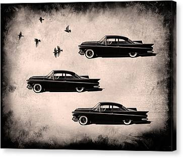 Birds Of A Feather Canvas Print by Douglas Pittman