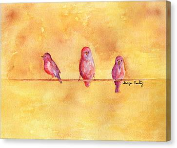 Birds Of A Feather - The Help Canvas Print by Tamyra Crossley