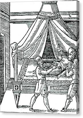 1596 Canvas Print - Birth By Caesarean Section by Universal History Archive/uig