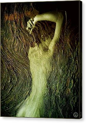 Birth Of A Dryad Canvas Print by Gun Legler