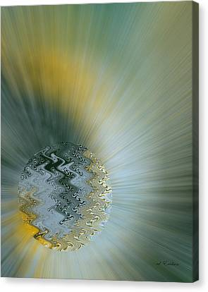 Birth Of A New World Canvas Print by Roy Erickson