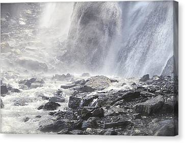 Canvas Print featuring the photograph Birth Of A River by Colleen Williams