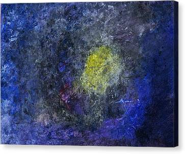 Canvas Print featuring the painting Birth Of A Star by Tracey Myers
