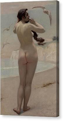 Birth Of Venus Canvas Print by Kenyon Cox