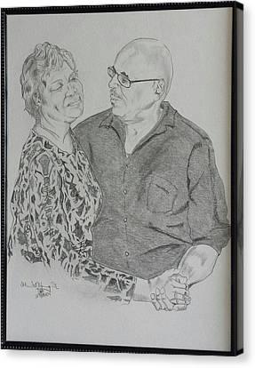 Birthday Dance Canvas Print
