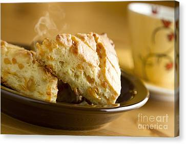 Cheese Canvas Print - Biscuits by Blink Images