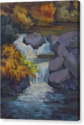 Bishop Creek Canvas Print by Diane McClary