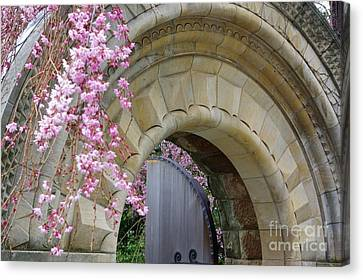 Canvas Print featuring the photograph Bishop's Gate by John S