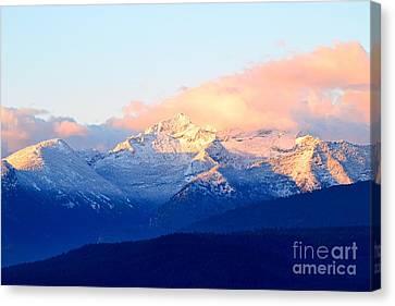 Bitterroot Mountains Montana Canvas Print