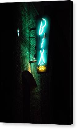 Bix Restaurant San Francisco Canvas Print by SFPhotoStore
