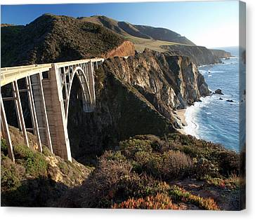 Bixby Bridge Afternoon Canvas Print