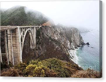 Bixby Bridge II Canvas Print by Jenna Szerlag
