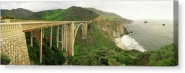 Bixby Bridge On The Big Sur Coast Canvas Print