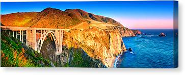 Bixby Creek Arch Bridge Canvas Print