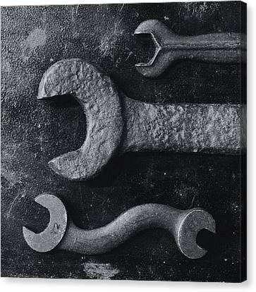 Black 34 Canvas Print by Tom Druin
