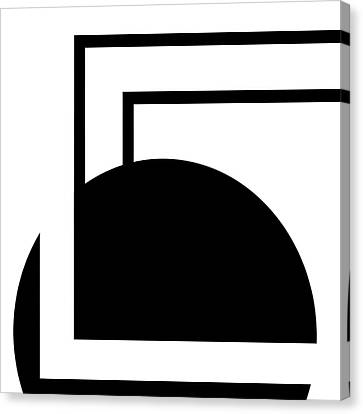 Black And White Art - 127 Canvas Print by Ely Arsha