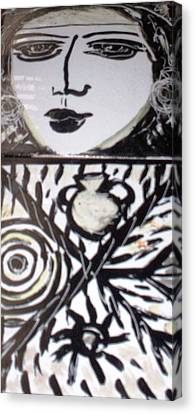 Black And White Canvas Print by Catherine Walker